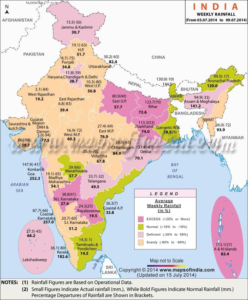 eső térkép Eső Indiában térkép   India eső térkép (Dél Ázsia   Asia) eső térkép