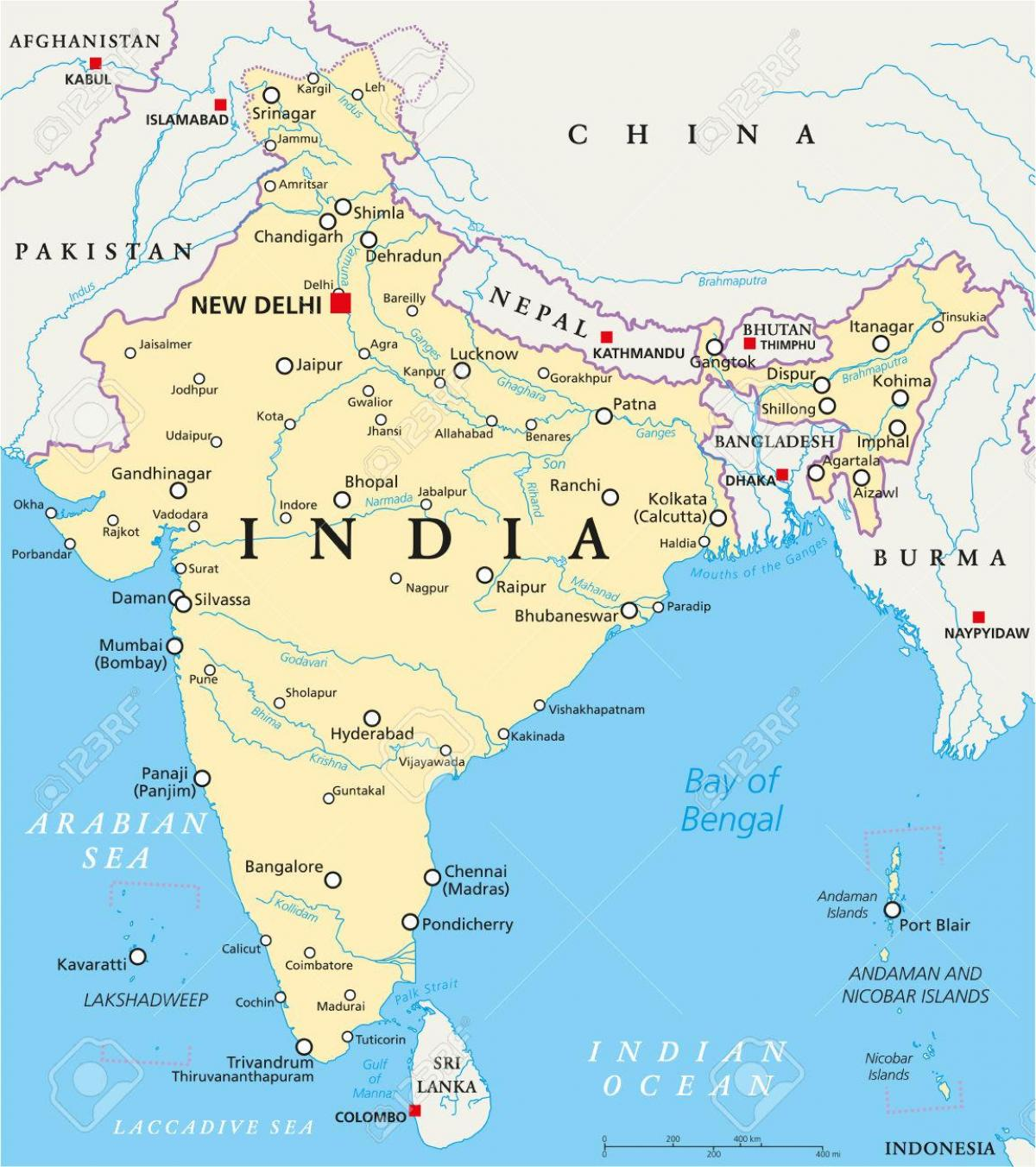 India Politikai Terkep 2016 Politikai Terkep India 2016 Ra Del